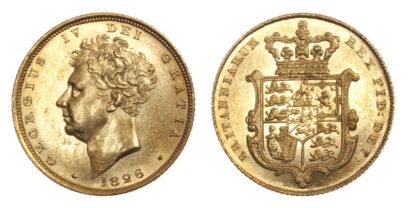 George IV, Sovereign, 1826