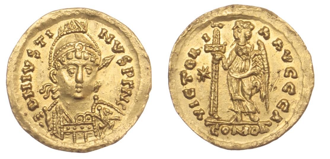 Theodoricus, Gold Solidus
