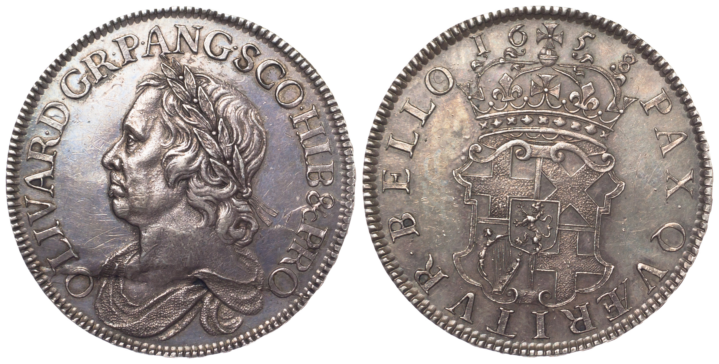 Cromwell, Crown, 1658/7