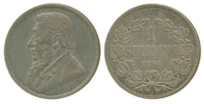South Africa, Republic, Shilling, 1894