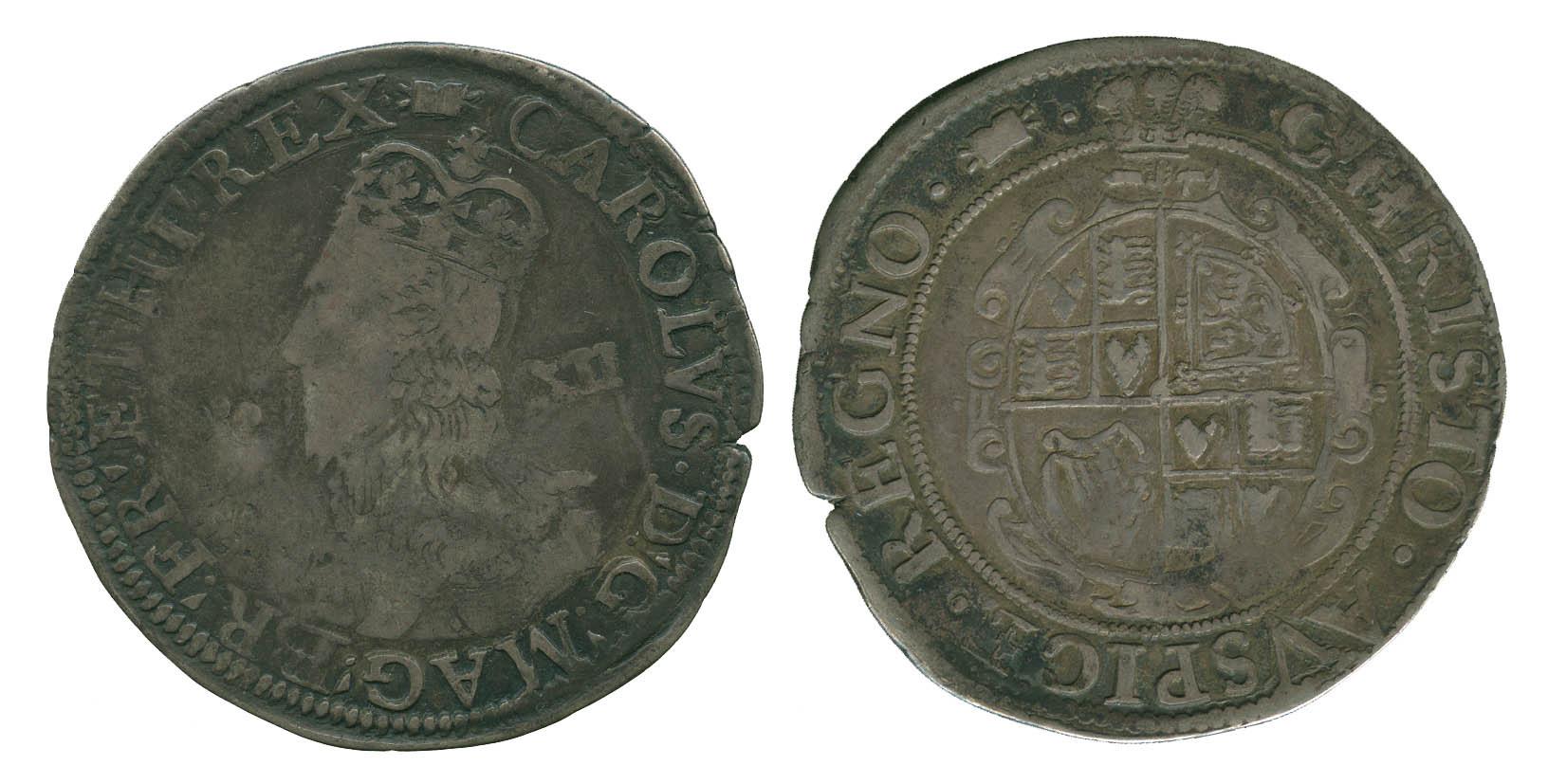 Charles I, Shilling, Aberystwyth