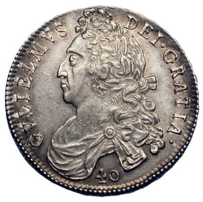 Scotland, William II, Forty Shillings, 1695