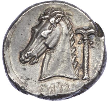 Sicily, Siculo-Punic, Silver Tetradrachm