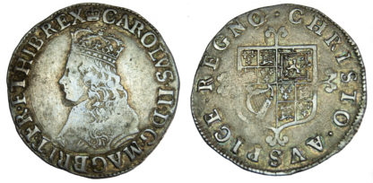 Charles II, Shilling, First Issue