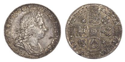 George I, Shilling, 1720