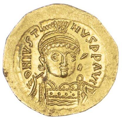 Justin I, Gold Solidus