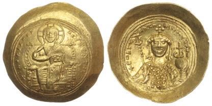 Constantine IX, Gold Histamenon