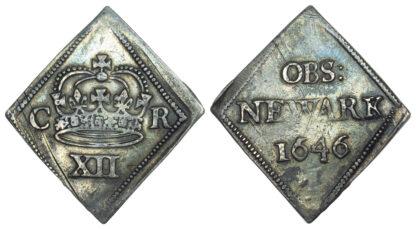 Charles I, Newark, Shilling, 1646