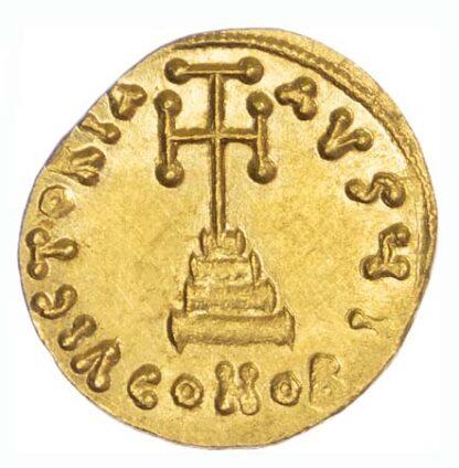Leontius, Gold Solidus