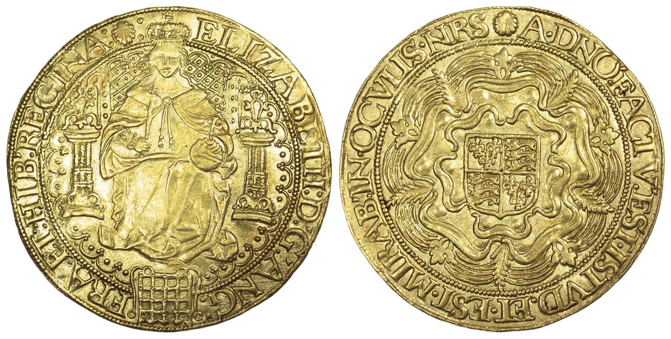 Elizabeth I, Sovereign