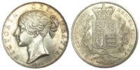 Victoria, Crown, 1845