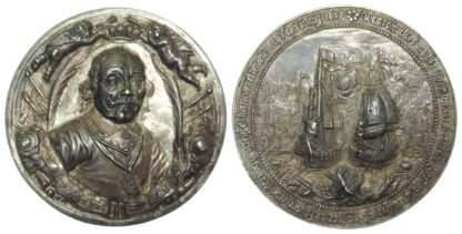 Commonwealth, Death of Admiral Tromp, Silver Medal, 1653
