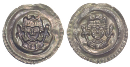 Germany, Ulm, Konrad IV, Silver Bracteate