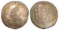 Germany, Saxe-Eisenach, 2/3 Taler, 1691