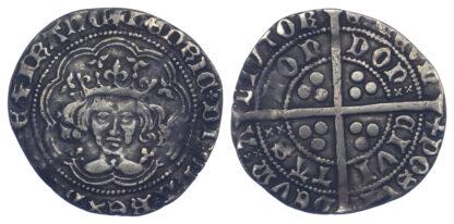 Henry V Groat Emaciated Bust S1759