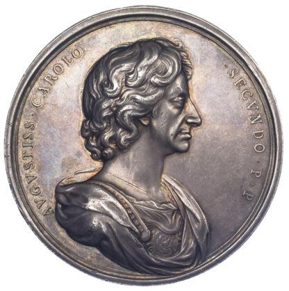Charles II, Restoration Silver Medal, 1660