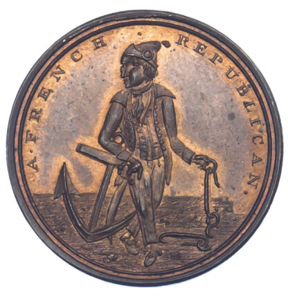 London, Holborn, Skidmore, Halfpenny Token, 1796
