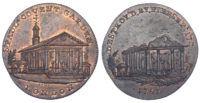 Middlesex, London, Skidmore, Halfpenny Token, 1795