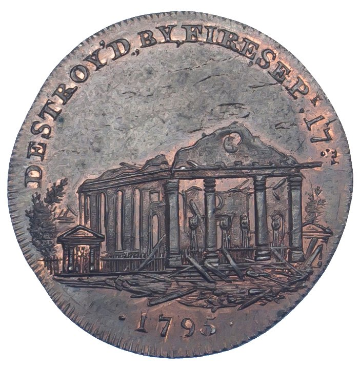 Middlesex, London, Skidmore, Halfpenny Token, 1795