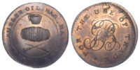 London, Hackney, G Butler, Skidmore, Halfpenny Token, 1796