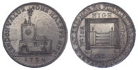 London, Hendon, Skidmore, Halfpenny Token, 1794