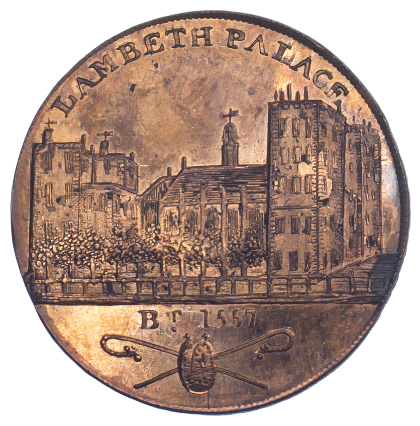 London, Lambeth, Skidmore, Penny Token, 1797