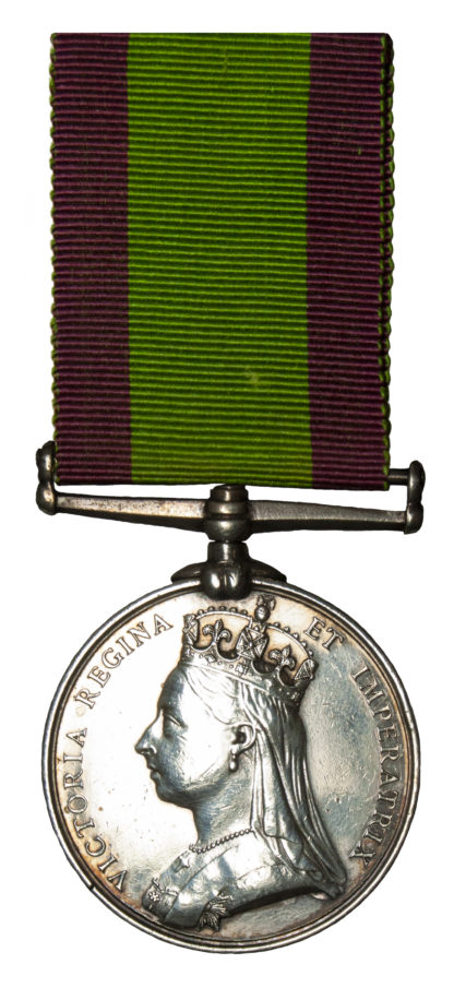 Afghanistan Medal, 1878-80, no clasp, to Pte James Metcalfe