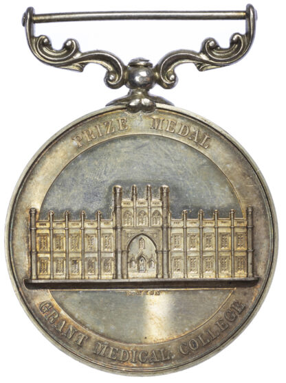 Edward VII, Grant Medical College (Bombay) Medal, 1907