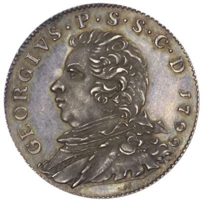 Ayrshire, Ayr, Restrike Pattern Sixpence Token, 1799