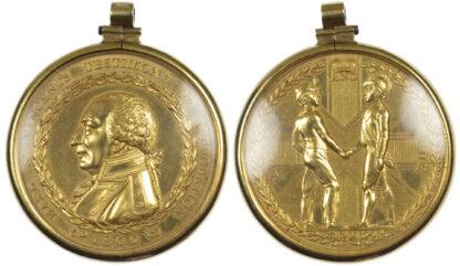 George III, Earl St. Vincent's Reward, Gold Medal, 1800
