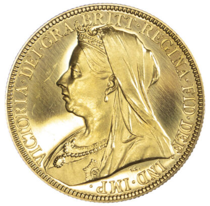 1893 Queen Victoria Proof Two Pounds