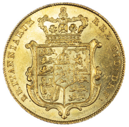1827 George IV Sovereign Good Extremely Fine
