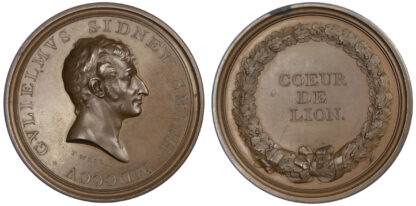 George III, Admiral William Sydney Smith, Medal, 1805