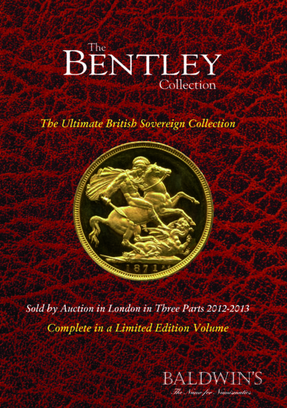 The Bentley Collection of British Milled Sovereigns