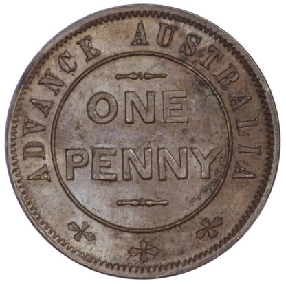 Australia, Copper Penny Token, 19th Century