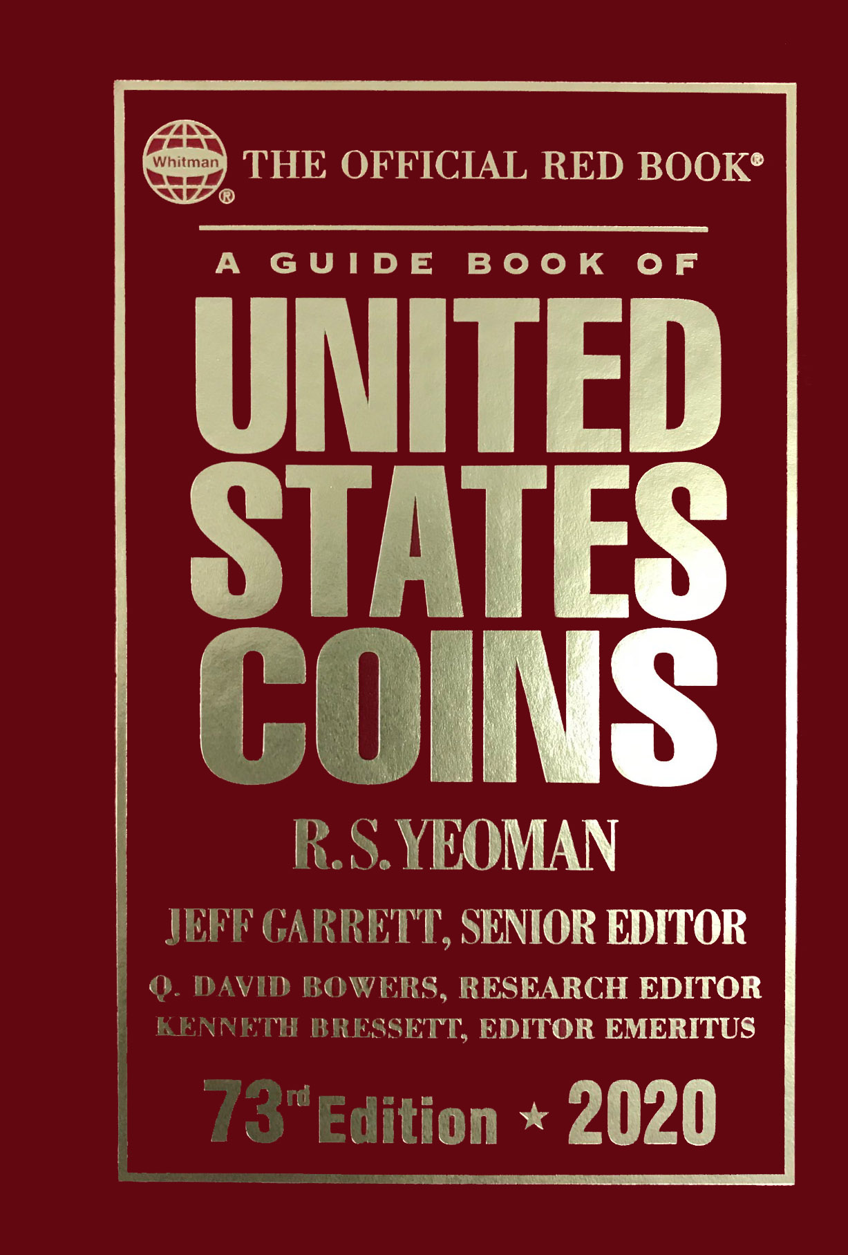 The Red Book. A Guide Book of United States Coins, 2020.