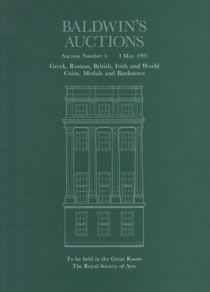 Baldwin's Auction No. 4 Catalogue, May 1995
