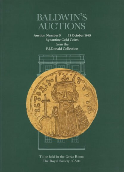Baldwin's Auction No. 5 Catalogue, October 1995.