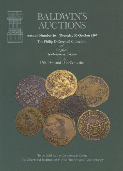 Baldwin's Auction No. 16 Catalogue, October 1997