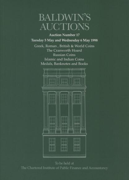 Baldwin's Auction No. 17 Catalogue, May 1998