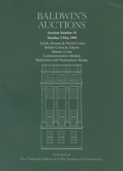 Baldwin's Auction No. 19 Catalogue, May 1999