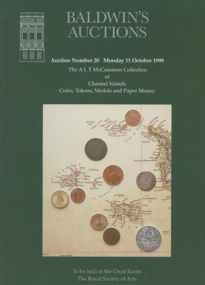 Baldwin's Auction No. 20 Catalogue, October 1999.