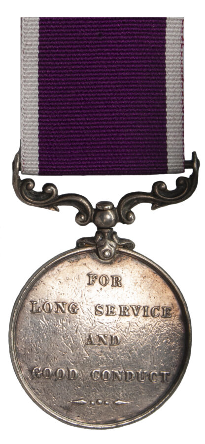 Long Service & Good Conduct Medal to Private R. Miller
