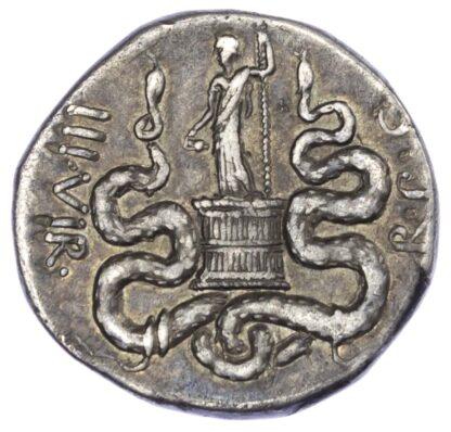 Mark Antony and Octavia, Silver Tetradrachm