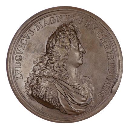 France, Louis XIV Battle of Leuze medal, 1691
