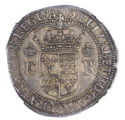 Elizabeth I Portcullis Money Four Testerns S2607B