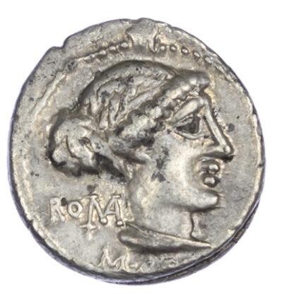 M. Porcius Cato, Silver Denarius