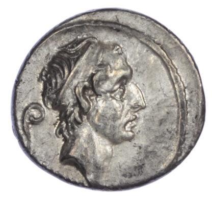 L. Marcius Philippus, Silver Denarius
