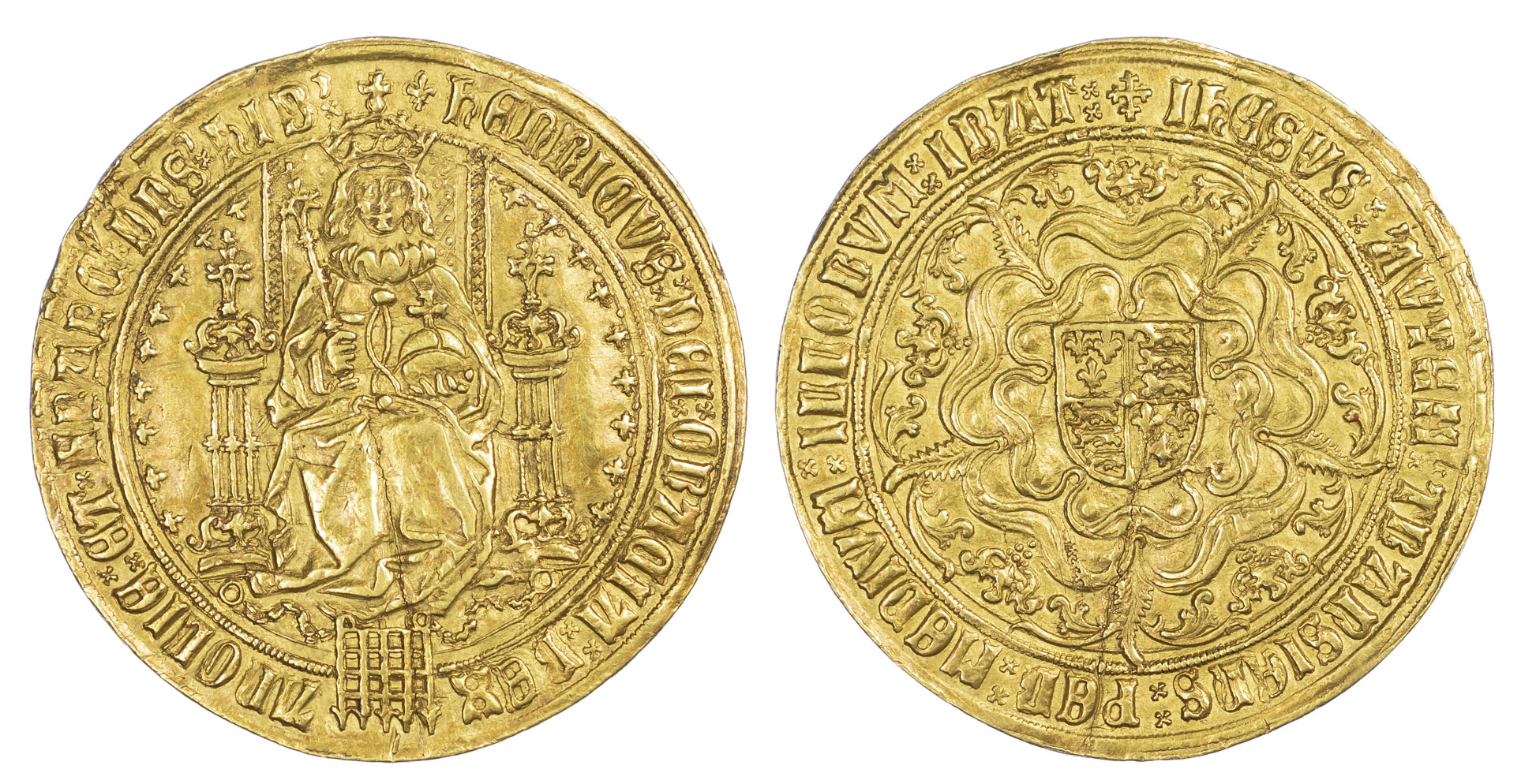 Henry VII Sovereign S2176 About EF