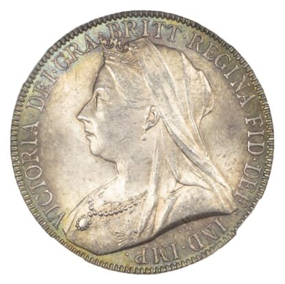 1893 OH Victoria Florin MS63+